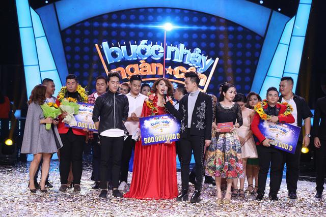 Bà mẹ một con Thanh Huyền đoạt quán quân Bước nhảy ngàn cân 2017 - Ảnh 12.