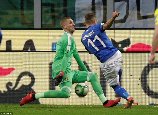 Sau 60 năm, Italia lần đầu tiên vắng mặt ở World Cup - Ảnh 1.