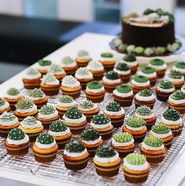 Kỳ công những góc vườn nhỏ xinh trên bánh ngọt - Ảnh 5.