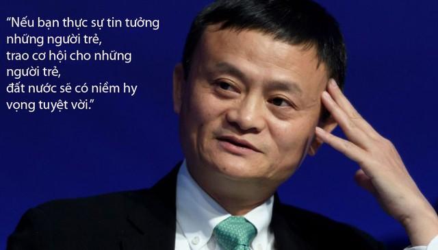 Những câu nói không thể quên của Jack Ma với sinh viên Việt Nam - Ảnh 2.