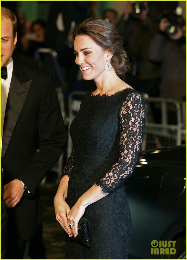 Nữ công tước Kate Middleto xinh đẹp đến ngỡ ngàng khi mang thai lần 3 - Ảnh 6.