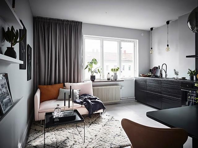 Thiết kế nhà 26m2 đẹp mê mẩn cho người độc thân - Ảnh 2.