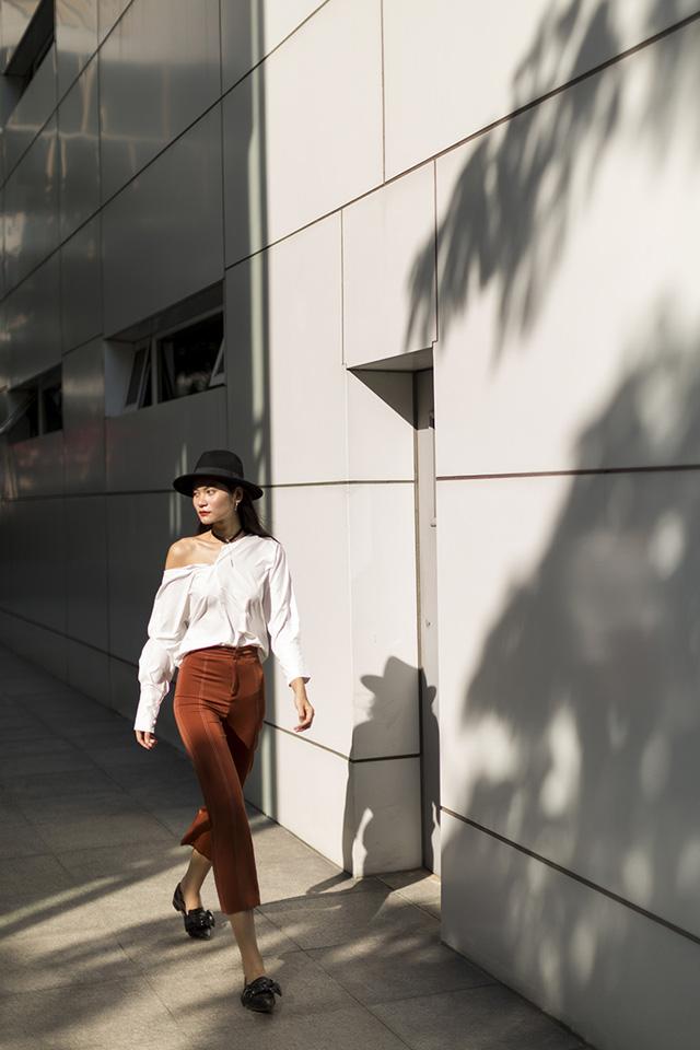 Xuống phố chất lừ như dàn người mẫu Vietnams Next Top Model - Ảnh 9.