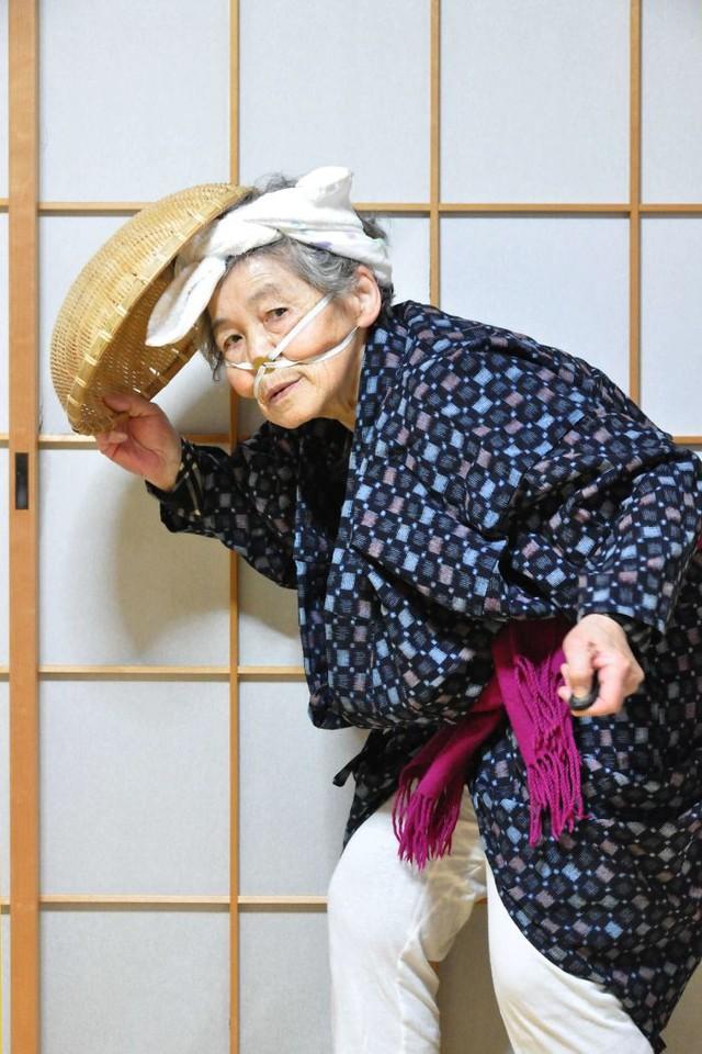 Cụ bà 90 tuổi trở thành người mẫu ảnh nổi tiếng Nhật Bản - Ảnh 8.