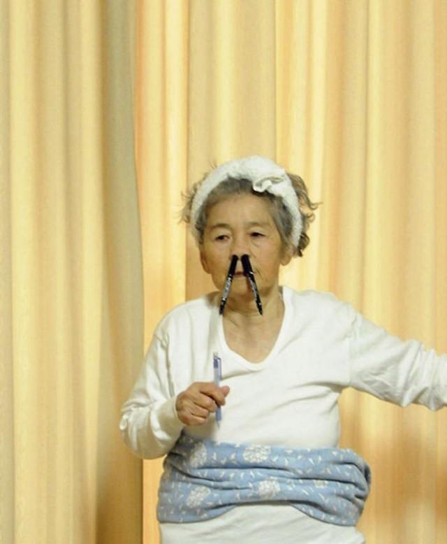 Cụ bà 90 tuổi trở thành người mẫu ảnh nổi tiếng Nhật Bản - Ảnh 6.