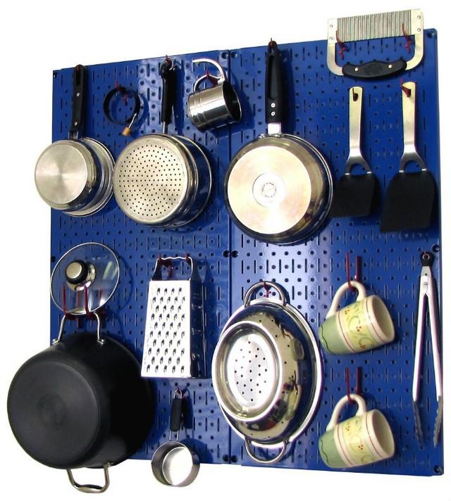 Ý tưởng độc đáo cho gian bếp nhỏ hẹp - Ảnh 2.