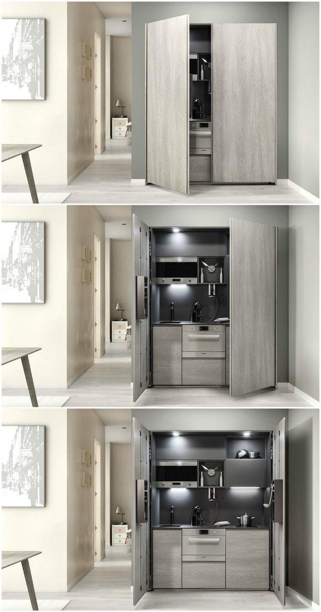 Những gian bếp đóng hộp hiện đại bà nội trợ nào cũng ước ao - Ảnh 5.