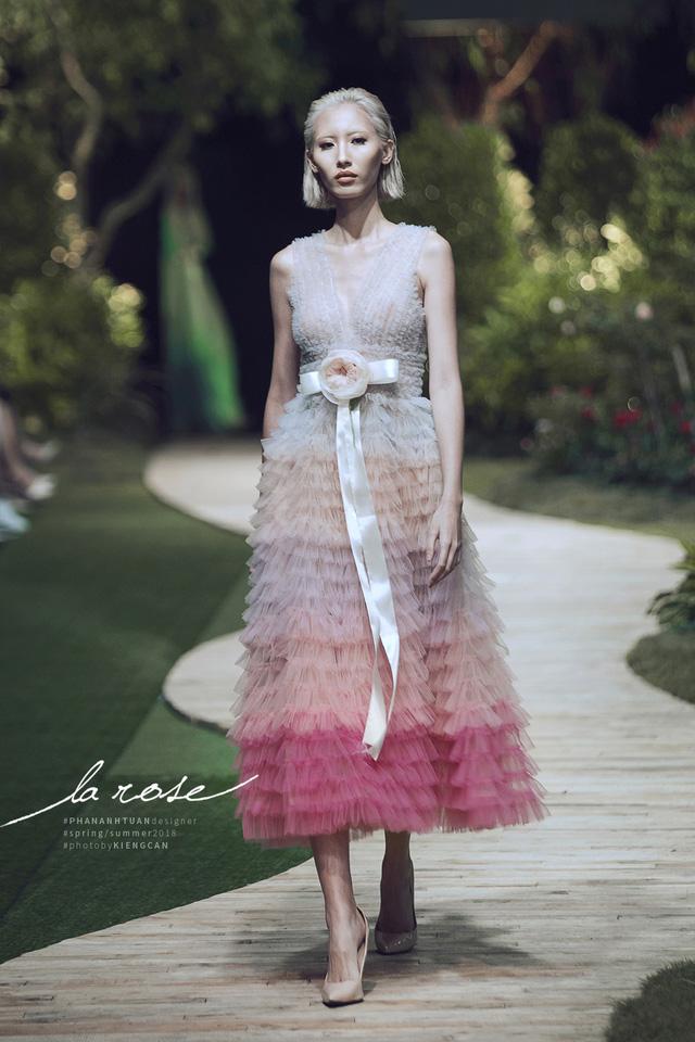 Hoa khôi Nam Em nổi bật với chiếc váy lộng lẫy... dài 5m - Ảnh 8.