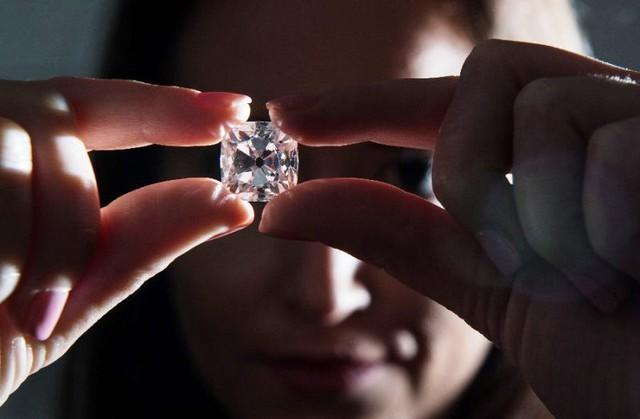 Bán đấu giá viên kim cương từng gắn trên vương miện của 6 vị vua Pháp - ảnh 1
