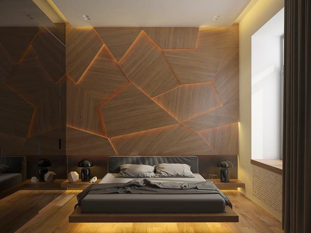 Những gợi ý cho phòng ngủ vừa sang trọng vừa hiện đại với nội thất bằng gỗ - Ảnh 2.