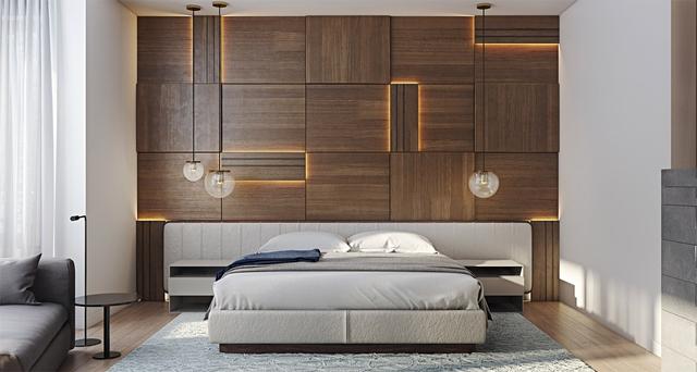 Những gợi ý cho phòng ngủ vừa sang trọng vừa hiện đại với nội thất bằng gỗ - Ảnh 12.