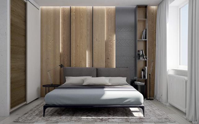 Những gợi ý cho phòng ngủ vừa sang trọng vừa hiện đại với nội thất bằng gỗ - Ảnh 4.