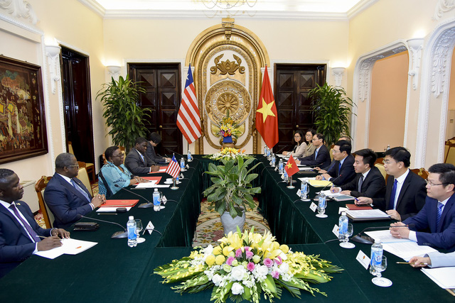 Việt Nam và Liberia phấn đấu nâng kim ngạch thương mại song phương lên 100 triệu USD - Ảnh 2.