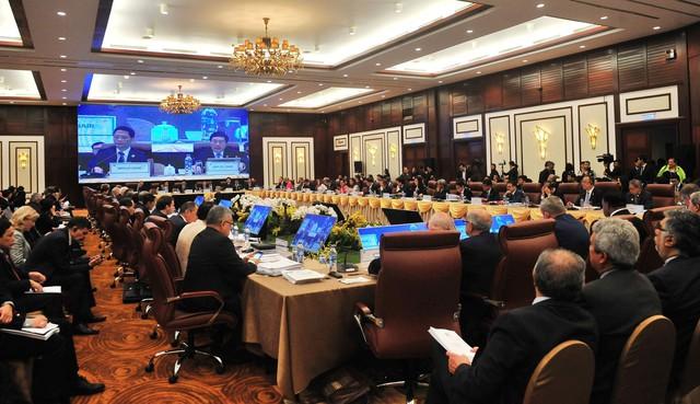 """""""2018 là năm ghi dấu ấn quan trọng cho quá trình hội nhập quốc tế của Việt Nam"""" - Ảnh 1."""