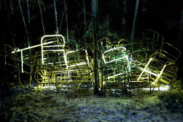 Độc đáo nghệ thuật vẽ tranh bằng ánh sáng - ảnh 14