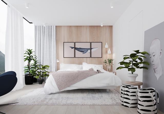 Những gợi ý cho phòng ngủ vừa sang trọng vừa hiện đại với nội thất bằng gỗ - Ảnh 18.