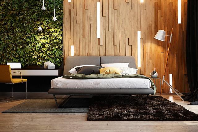 Những gợi ý cho phòng ngủ vừa sang trọng vừa hiện đại với nội thất bằng gỗ - Ảnh 3.