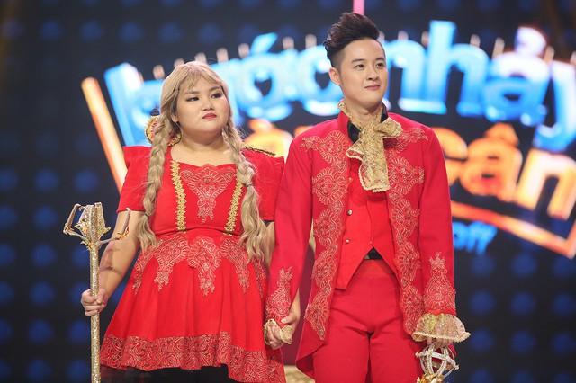 Trương Quỳnh Anh hộ tống chồng tham gia Bước nhảy ngàn cân - Ảnh 8.
