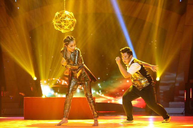 Lộ diện top 3 vào chung kết Bước nhảy ngàn cân 2017 - Ảnh 6.