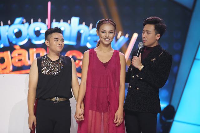 Trương Quỳnh Anh hộ tống chồng tham gia Bước nhảy ngàn cân - Ảnh 5.