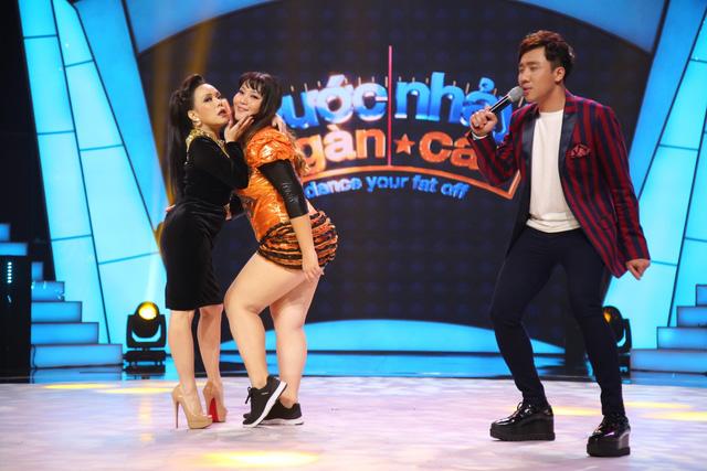 Việt Hương catwalk khoe vòng 3 trên sân khấu Bước nhảy ngàn cân (21h, VTV3) - Ảnh 2.