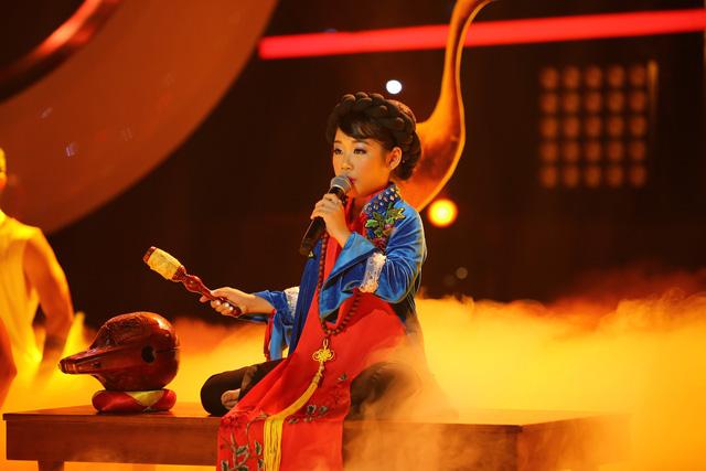 Gương mặt thân quen nhí: Ngọc Giàu khiến khán giả sởn da gà khi hóa diva Hồng Nhung - Ảnh 1.