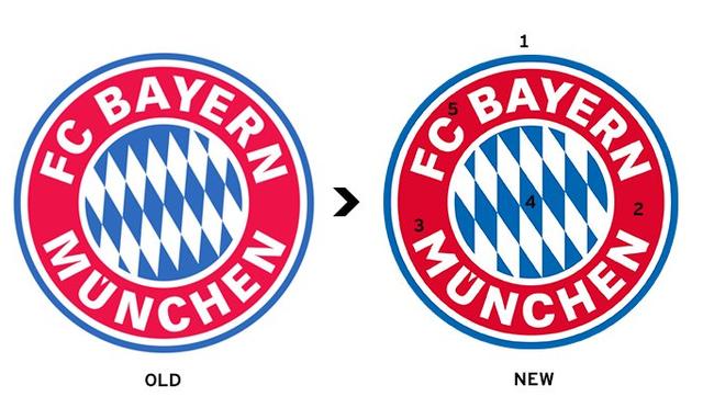 Bayern Munich thay đổi logo đội bóng - Ảnh 3.