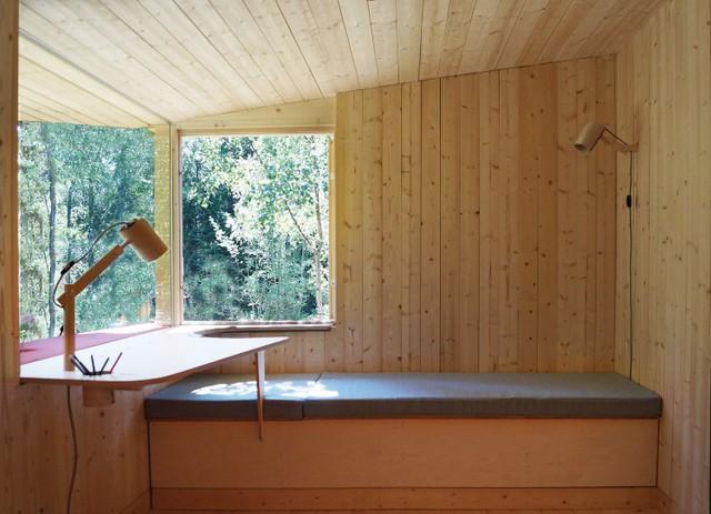 Ngôi nhà độc đáo ở Thụy Điển với khoảng giếng trời lạ mắt - Ảnh 5.