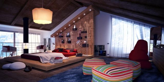 Những gợi ý cho phòng ngủ vừa sang trọng vừa hiện đại với nội thất bằng gỗ - Ảnh 13.