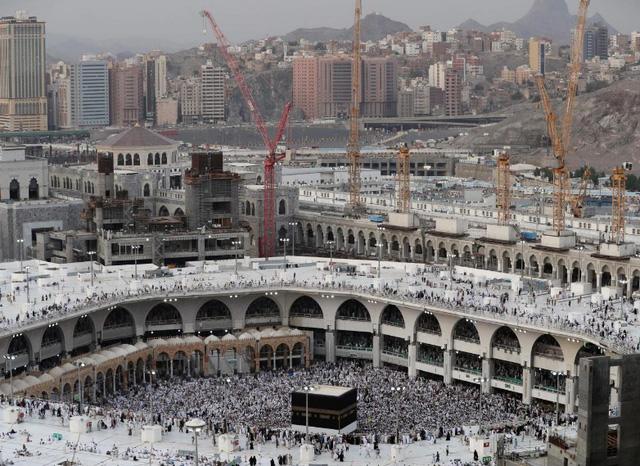 2 triệu người Hồi giáo hành hương tới Thánh địa Mecca - Ảnh 3.