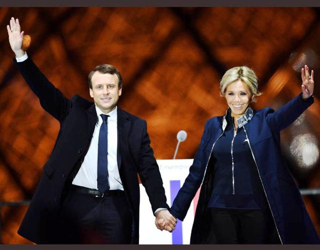 Chuyện tình lãng mạn của tân Tổng thống Pháp Emmanuel Macron - Ảnh 1.