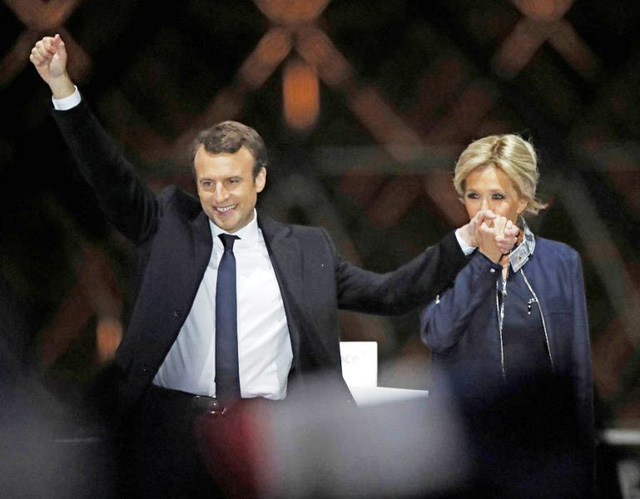 Chuyện tình lãng mạn của tân Tổng thống Pháp Emmanuel Macron - Ảnh 5.