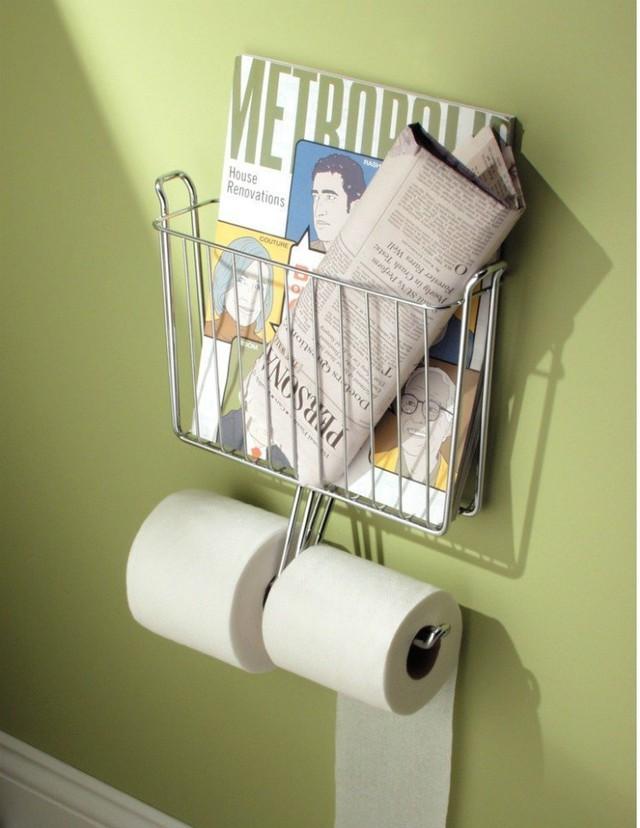 Những vật dụng giúp tiết kiệm không gian trong phòng tắm nhỏ - Ảnh 7.