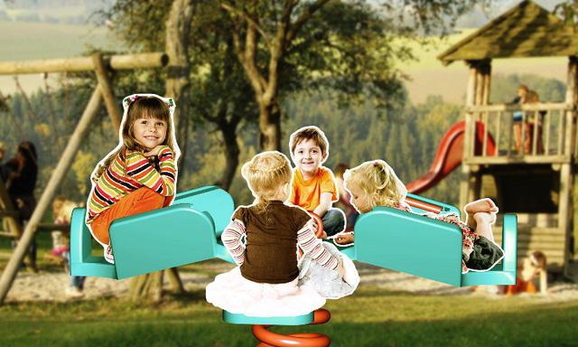 Sân chơi thiết kế đặc biệt cho trẻ khuyết tật - Ảnh 1.
