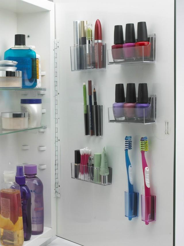 Những vật dụng giúp tiết kiệm không gian trong phòng tắm nhỏ - Ảnh 15.