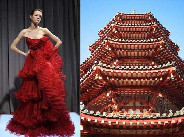 Những thiết kế thời trang siêu độc được thổi hồn từ kiến trúc - Ảnh 1.