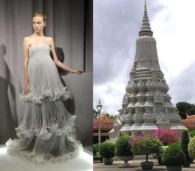 Những thiết kế thời trang siêu độc được thổi hồn từ kiến trúc - Ảnh 13.