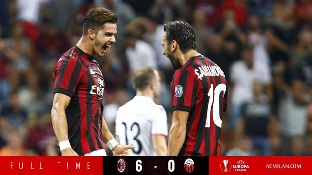 Kết quả bóng đá đêm 17/8, rạng sáng 18/8: AC Milan 6 – 0 KF Shkendija, Everton 2 – 0 Hajduk Split - Ảnh 1.