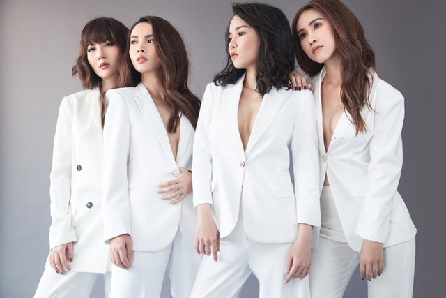 Nhóm Mây Trắng bất ngờ tái hợp trong The Remix 2017 - Ảnh 2.