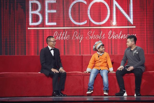 Nhà báo Lại Văn Sâm không thể hoãn lại sự sung sướng trên sân khấu Mặt trời bé con - Ảnh 1.