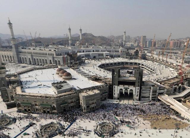 2 triệu người Hồi giáo hành hương tới Thánh địa Mecca - Ảnh 4.