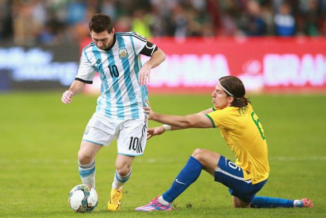 Giao hữu quốc tế: ĐT Brazil 0-1 ĐT Argentina: Màn ra mắt thành công của HLV Jorge Sampaoli - Ảnh 1.