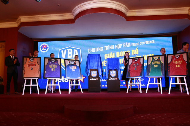 Họp báo ra mắt giải bóng rổ chuyên nghiệp Việt Nam - VBA mùa giải 2017 - Ảnh 1.