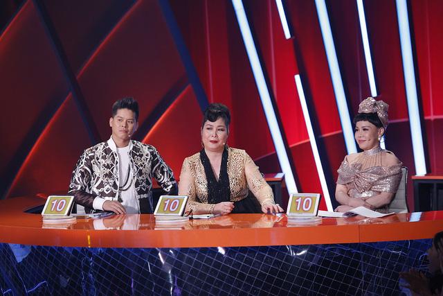 Trương Quỳnh Anh hộ tống chồng tham gia Bước nhảy ngàn cân - Ảnh 9.