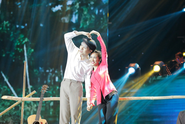 Cặp đôi hoàn hảo: Hòa Minzy siêu đanh đá, giành chiến thắng cùng Mai Tiến Dũng - Ảnh 2.
