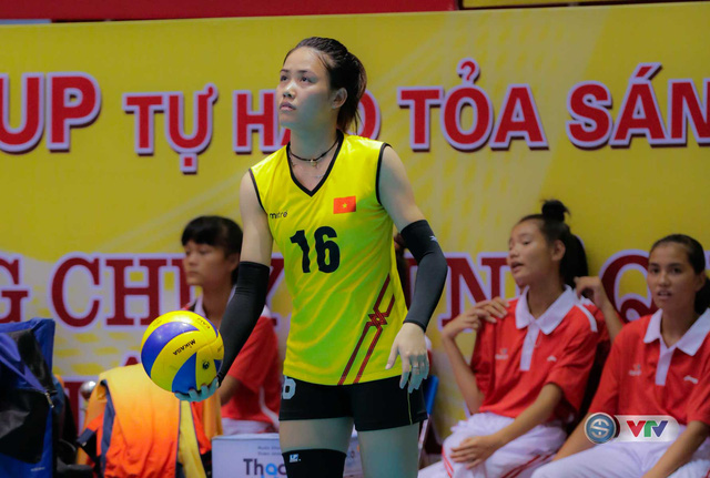 Ảnh: Chiêm ngưỡng vẻ đẹp của 10 ứng viên danh hiệu Hoa khôi VTV Cup Tôn Hoa Sen 2017 - Ảnh 9.