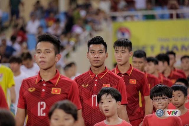 ẢNH: Những khoảnh khắc trong trận giao hữu U22 Việt Nam – Tuyển các Ngôi sao K-League - Ảnh 1.