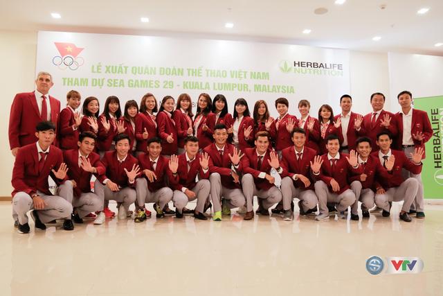Lễ xuất quân Đoàn Thể thao Việt Nam tham dự SEA Games 29 - Ảnh 10.
