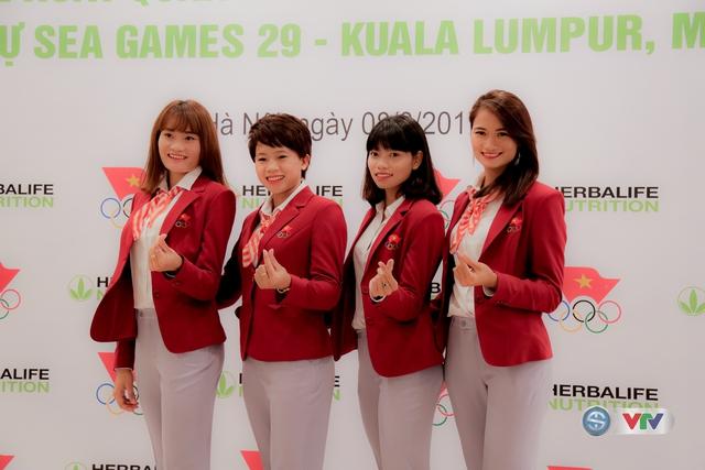 Lễ xuất quân Đoàn Thể thao Việt Nam tham dự SEA Games 29 - Ảnh 12.