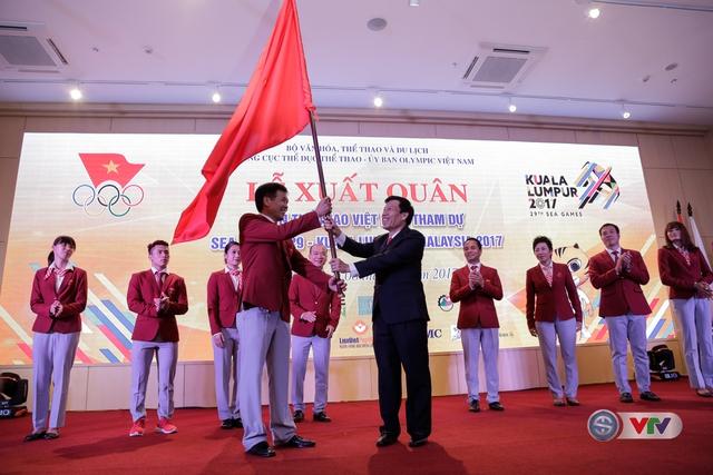 Lễ xuất quân Đoàn Thể thao Việt Nam tham dự SEA Games 29 - Ảnh 3.
